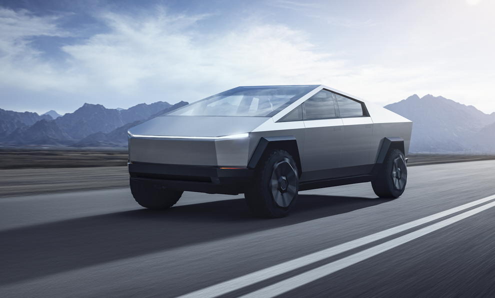 Retour vers le futur: voici le nouveau Cybertruck d'Elon Musk