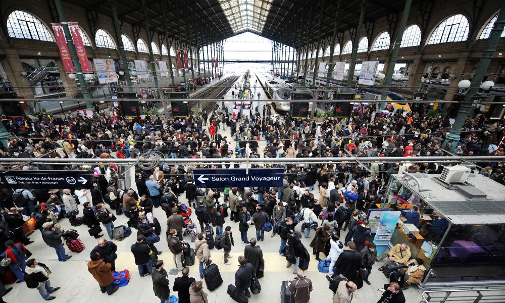 4 Parisiens sur 10 ont peur dans le métro, surtout à gare du Nord
