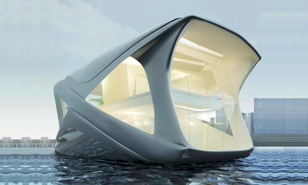 Ces maisons flottantes pour ultra riches sont la solution à la montée des eaux