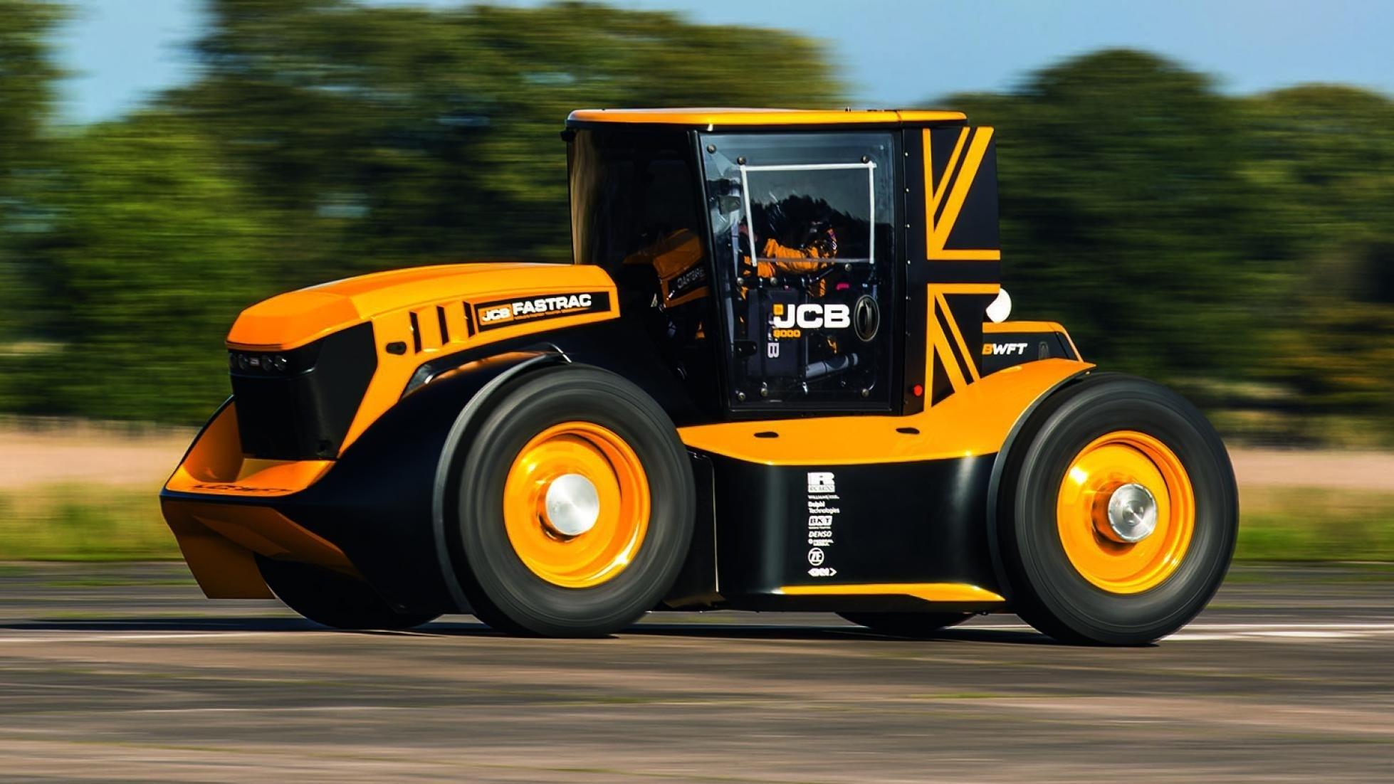 247 km/h : ce tracteur est le plus rapide du monde
