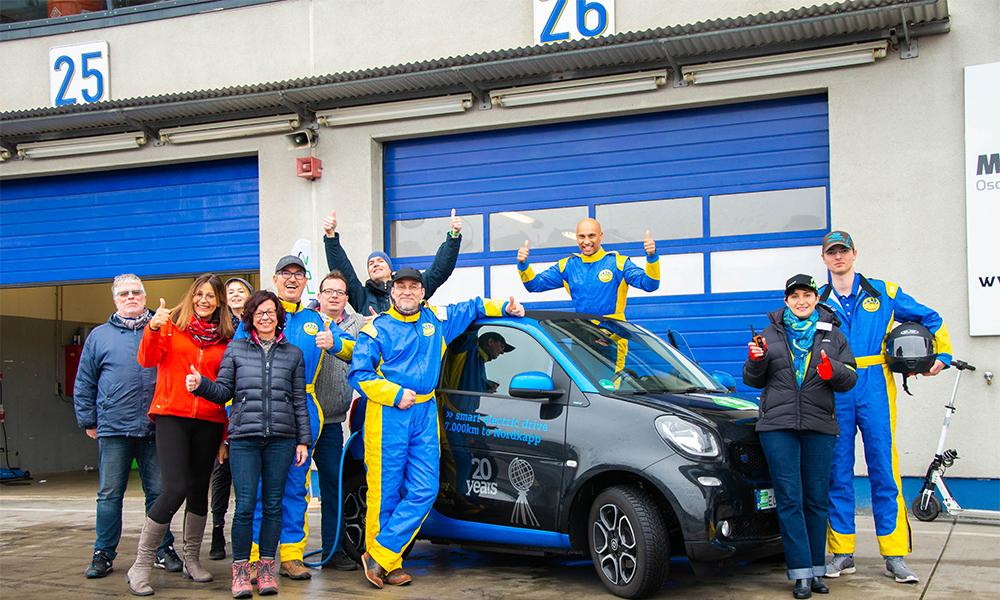 Pour gagner ce 24 heures du Mans des voitures électriques, il faut polluer le moins possible