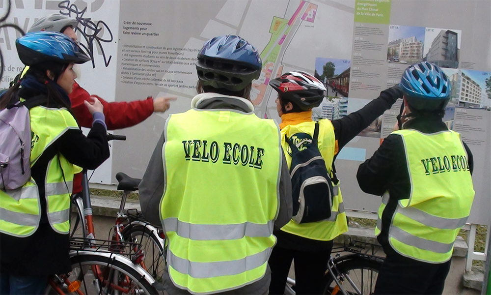 Depuis 1995, cette école enseigne la pratique du vélo aux petits et grands
