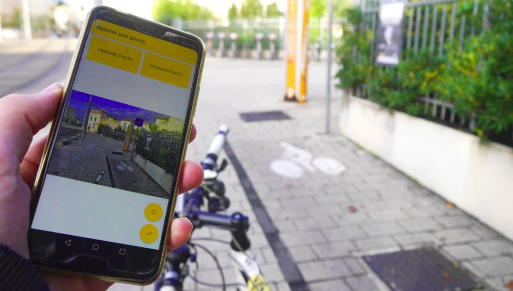Vigilo, l'appli qui cartographie les obstacles des cyclistes en ville
