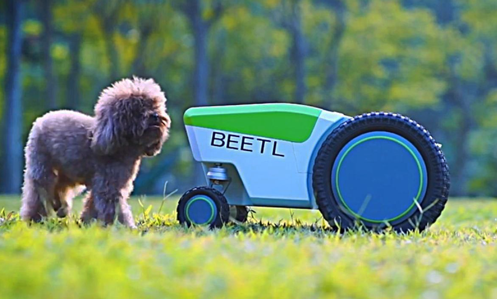 Eh mer**, voici le premier motocrotte autonome pour vos jardins