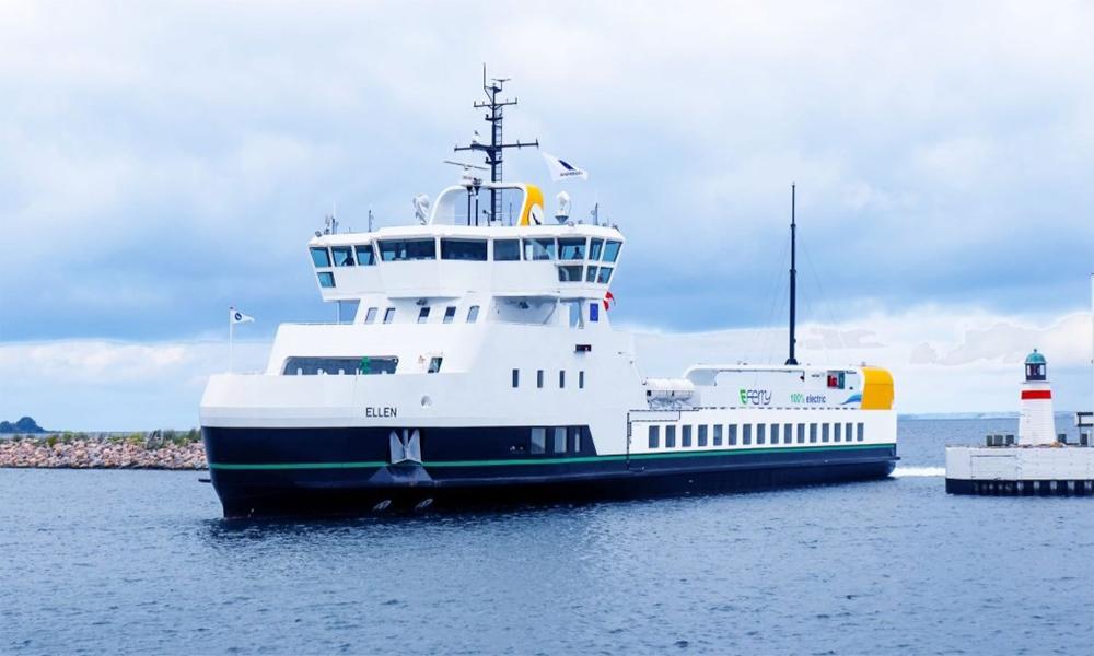 Le Danemark lance le plus grand ferry électrique au monde