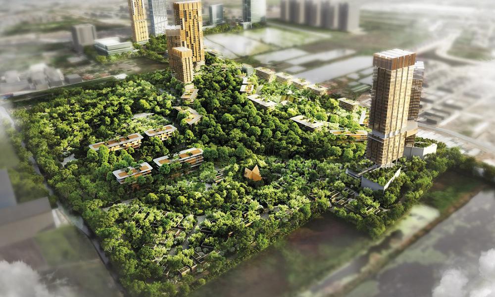 En Thaïlande, cette ville-forêt est construite pour rendre ses habitants plus heureux