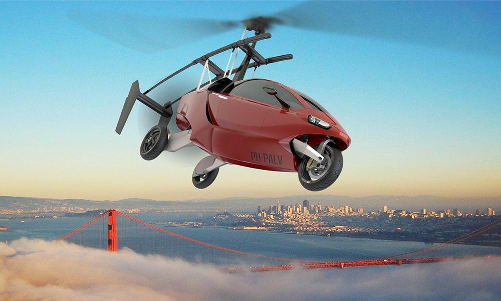 La première vraie voiture volante arrive dès 2021 et fonce à 320 km/h