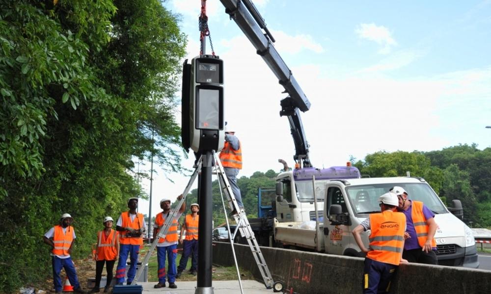 En Guadeloupe, le gouvernement a installé 1 radar tous les 10 kilomètres