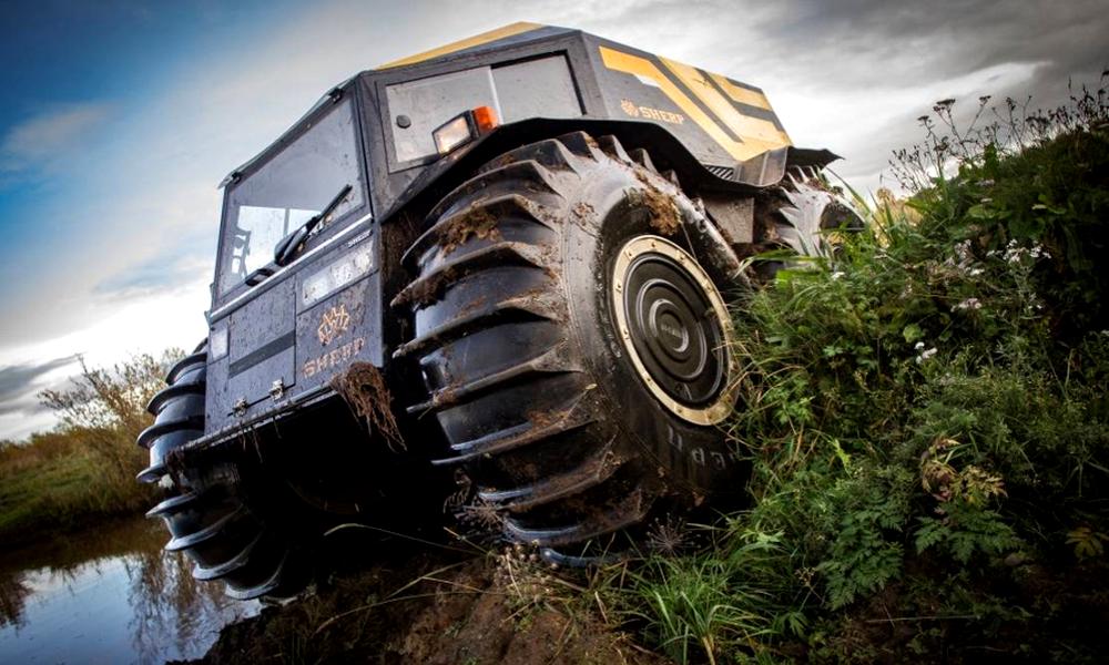 Les Russes ont créé le véhicule tout-terrain vraiment impossible à arrêter