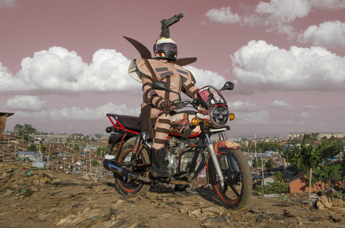 À Nairobi, les moto-taxis sont vraiment sapés comme jamais