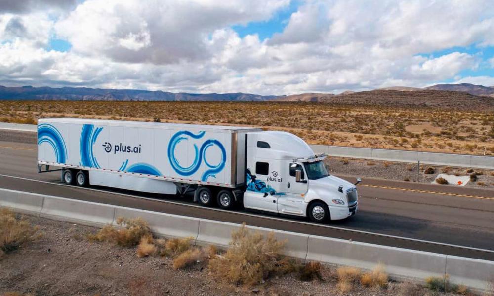 Ce camion a roulé 4500 kilomètres sans chauffeur pour livrer… du beurre