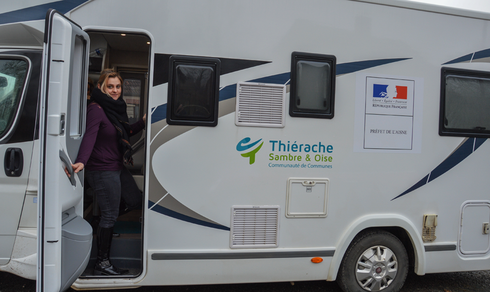 Ce camping-car parcourt les Hauts-de-France pour résoudre vos problèmes avec le service public