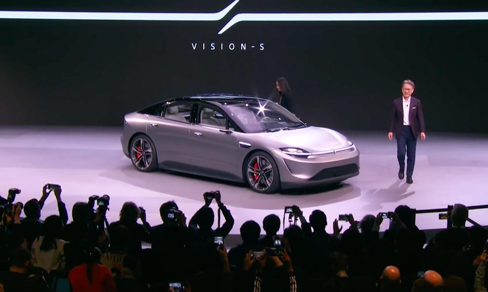 À Las Vegas, Sony dévoile un étonnant modèle de… voiture électrique
