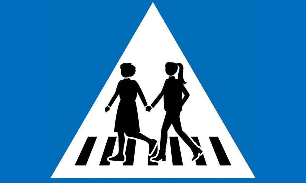 À Genève, les panneaux de signalisation seront désormais 50% féminins
