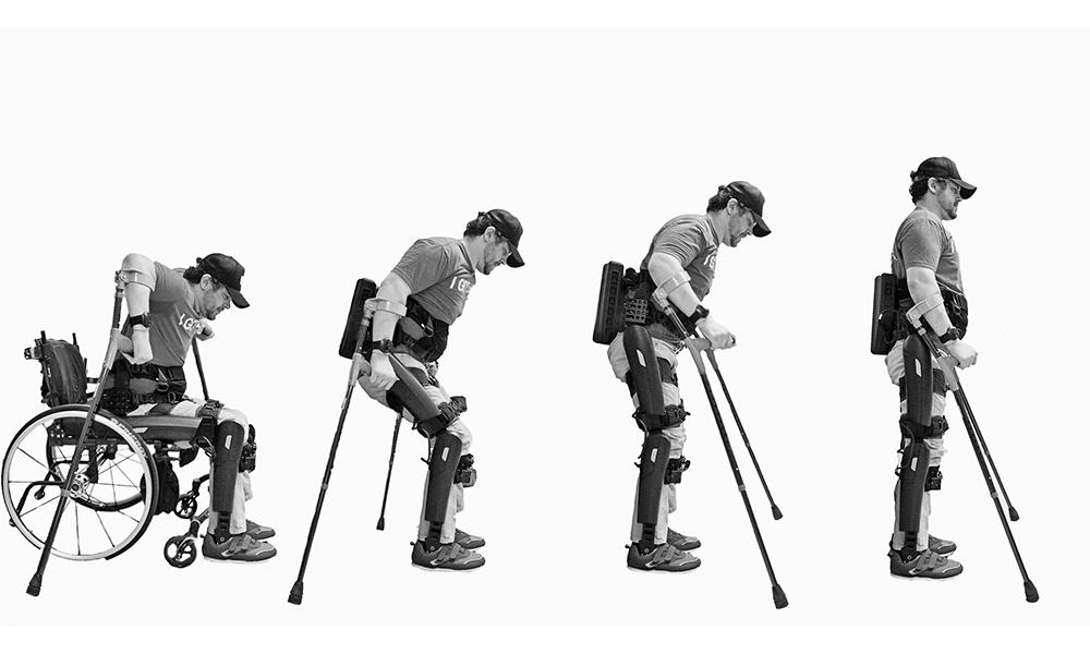 Paralysé depuis ses 19 ans, il devient champion du marathon avec son exosquelette