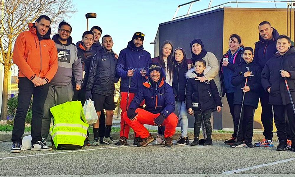 300 km à pied: par solidarité avec les SDF, ils marchent de Lyon à Montpellier