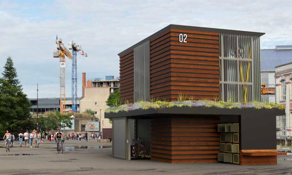 """50 vélos sur 24 m² : cette """"ruche à vélos"""" révolutionne les parkings en ville"""