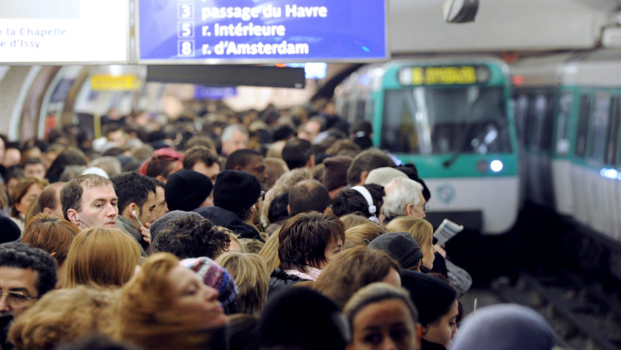 Le saviez-vous ? La ligne 13 est l'une des lignes de métro les plus bondées au monde