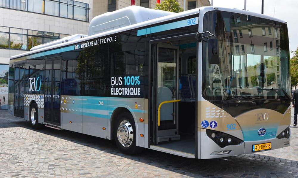 À Orléans, tous les bus seront électriques d'ici 2026