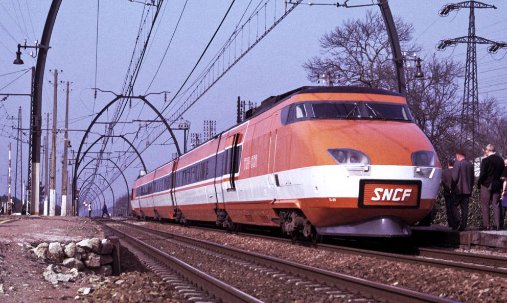 """Le premier TGV de la SNCF, surnommé """"Patrick"""", va prendre sa retraite"""