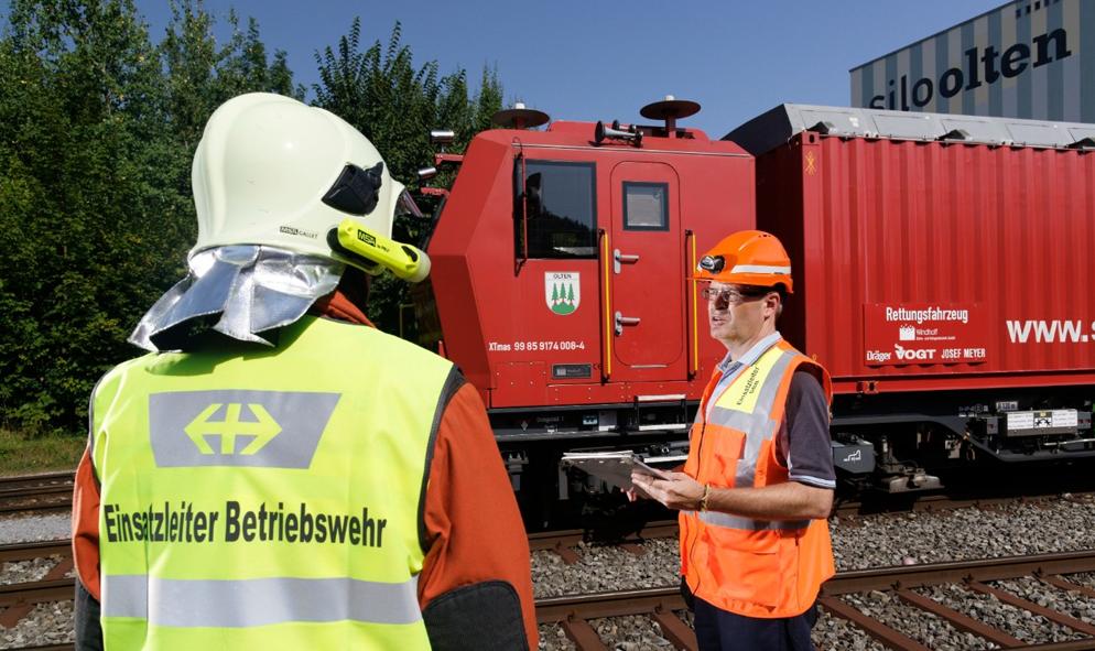 Le saviez-vous ? Les Suisses ont des trains pour lutter contre les incendies