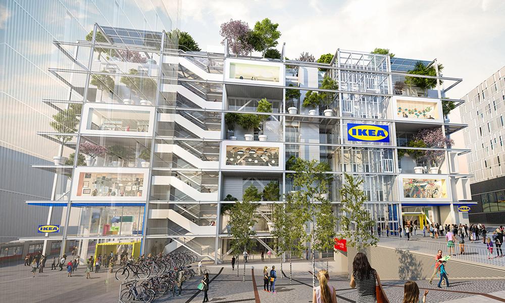 IKEA va inaugurer son premier magasin interdit aux voitures