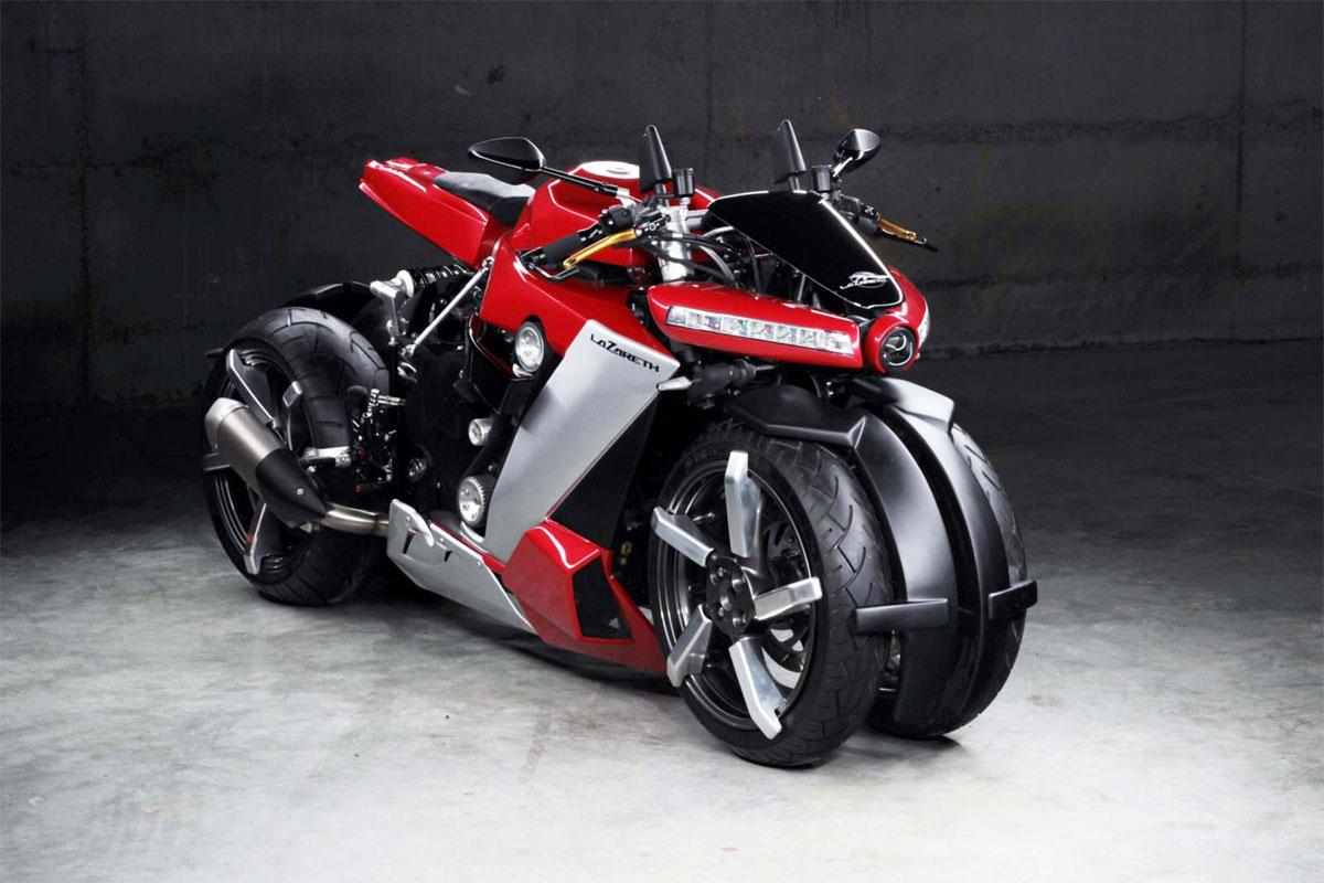 Contre 100 000 €, cette moto à quatre roues est à vous