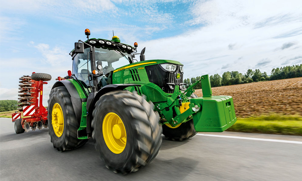Flashé à 146 km/h, ce tracteur s'était fait voler sa plaque d'immatriculation