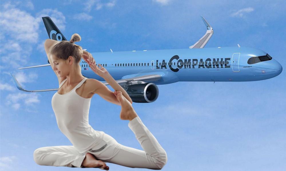 Cette compagnie aérienne propose des cours de yoga pour détendre ses passagers