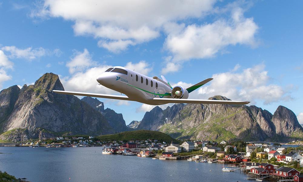 Une première ligne d'avions électriques ouvrira en Norvège en 2030