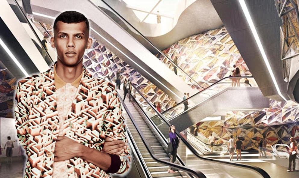 Formidable : Stromae va dessiner l'une des futures gares du Grand Paris Express