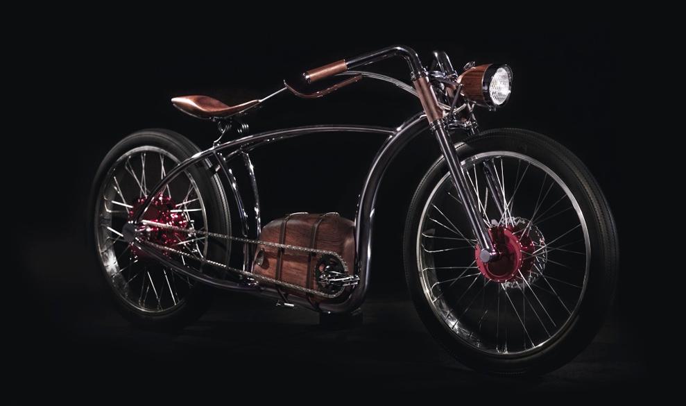 Cette sublime moto rétro est… un vélo électrique