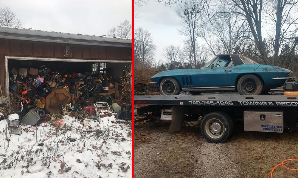 Elle retrouve une voiture à 50 000 dollars planquée dans un garage pendant 50 ans