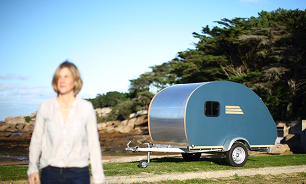 Cette Bretonne a tout plaqué pour construire des caravanes écoresponsables
