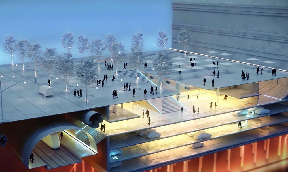 Des restos, des tunnels et de l'agriculture : voici les parkings du futur