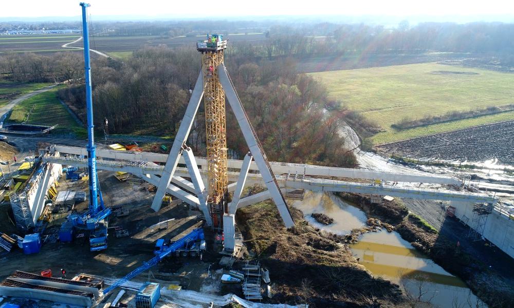 Des Autrichiens inventent un pont dépliable qui s'installe en 3 heures