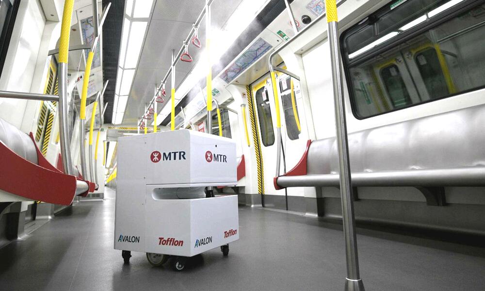 Ces robots passent les métros au Kärcher pour stopper le coronavirus