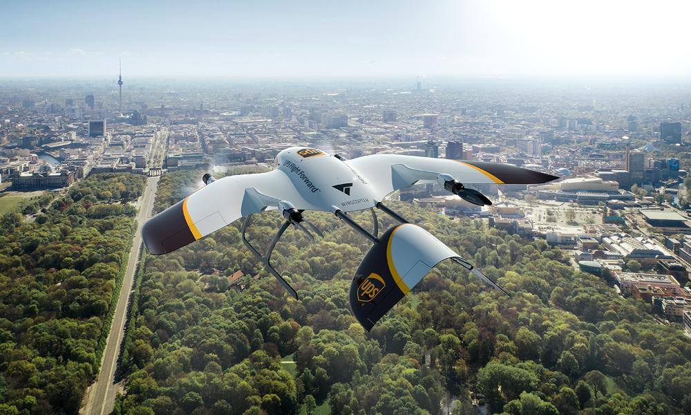 Cet oiseau-drone livre vos colis à 240 km/h