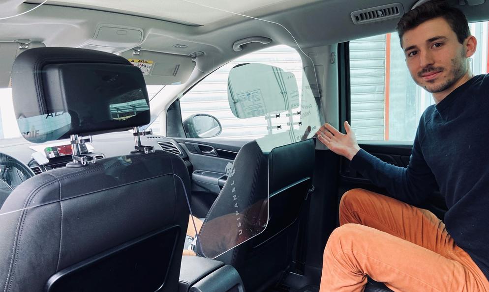 Cette PME fabrique des vitres anti-postillons pour les voitures de l'Élysée