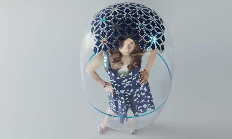 Cette bulle vous protège de tous les virus (mais pas du ridicule)