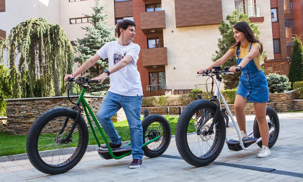 Qui veut sortir du confinement avec ce vélo-scooter électrique ?