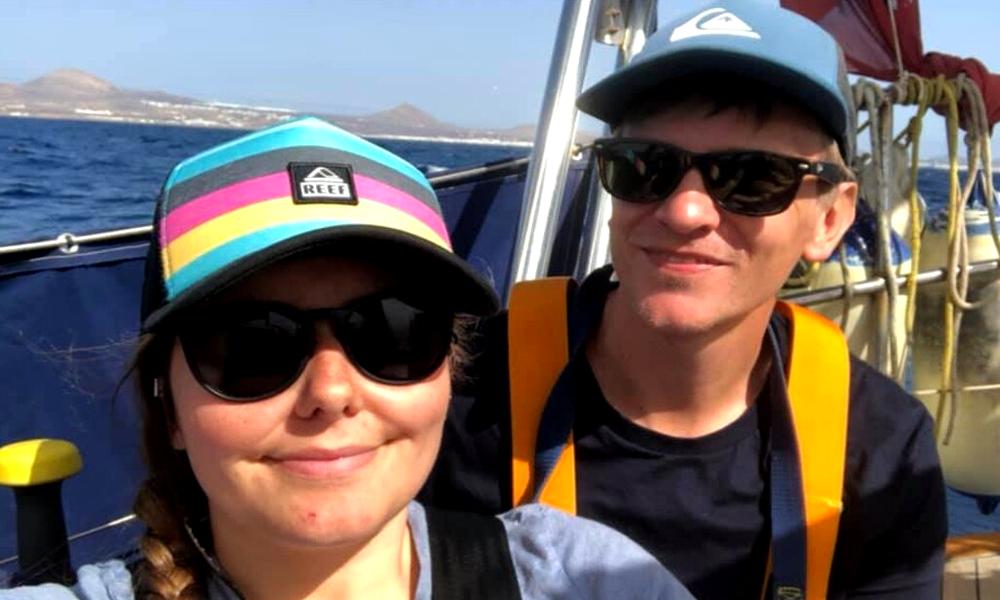 En mer depuis 1 mois, ce couple a découvert la pandémie après tout le monde
