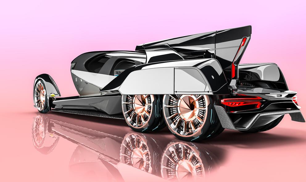 The Pulse Concept : une voiture qui se transforme en taxi volant