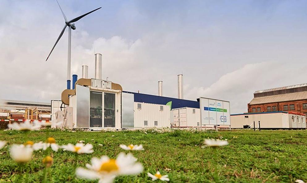 Recyclage : cette usine d'Engie produit de l'électricité avec les vieilles batteries de voiture