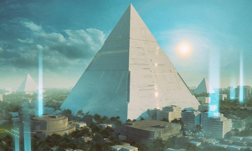 Vivre dans une pyramide de 2 km de haut, c'est le projet d'un million de Japonais