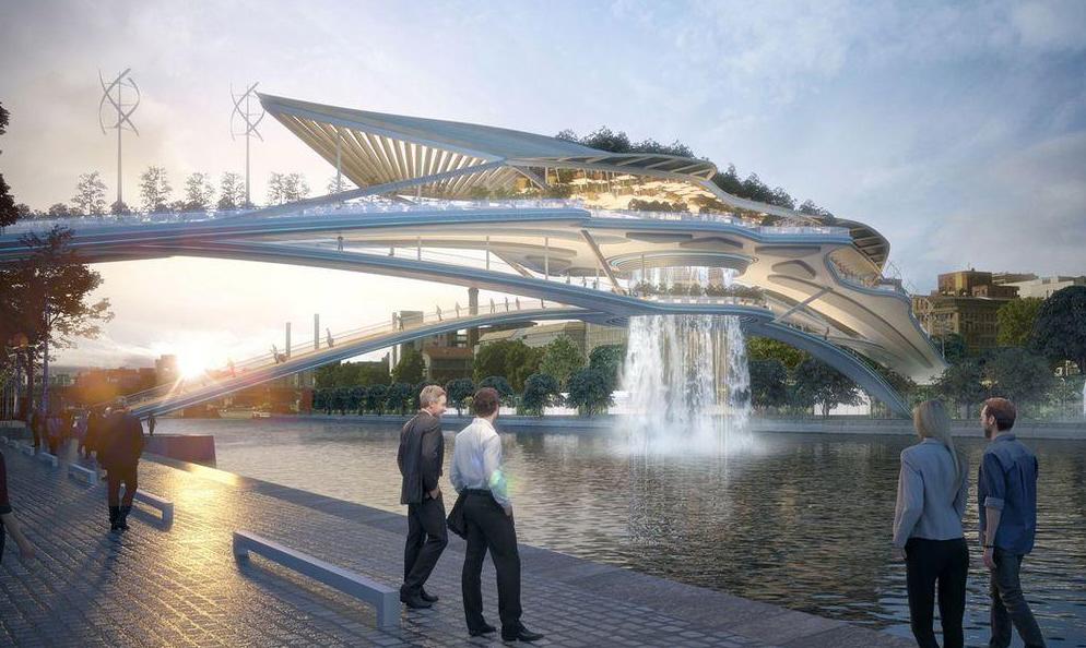 À Paris, cet incroyable pont végétal pourrait bientôt enjamber la Seine