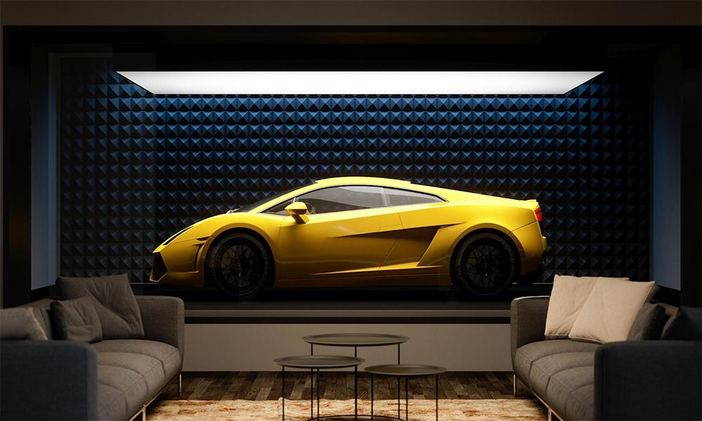 Et si vous transformiez votre garage en salon d'exposition ?