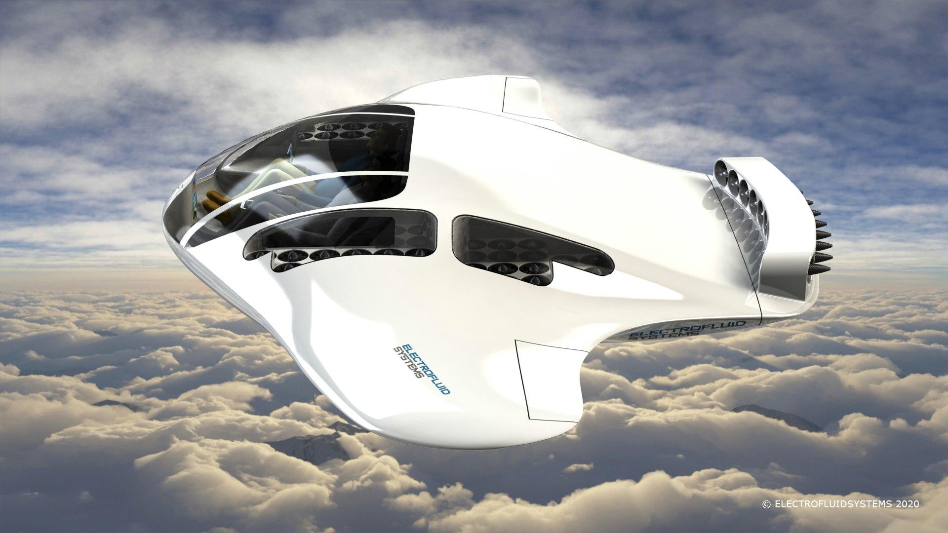 Cette soucoupe volante est peut-être votre nouveau taxi