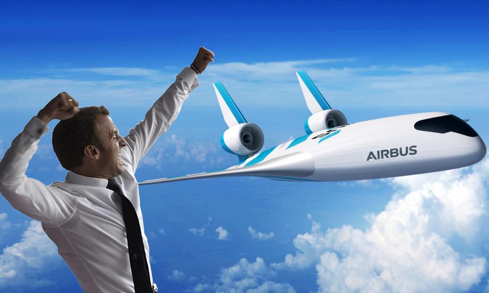 Le gouvernement promet des avions non polluants pour 2035