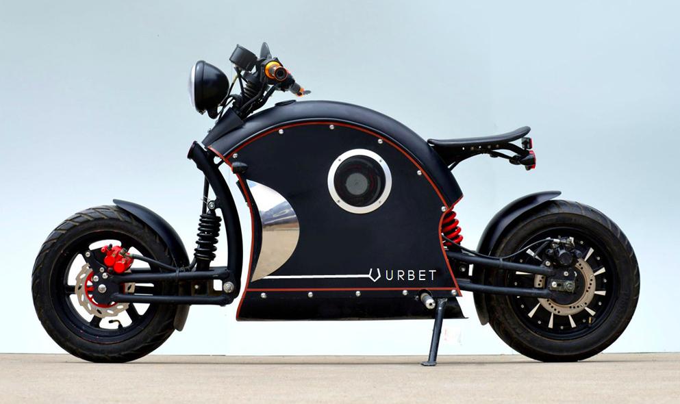 Cette moto électrique de dingue est à vous pour 2500 €